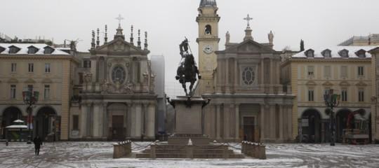 Maltempo neve Torino