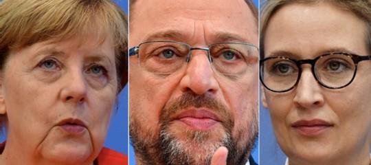 grosse koalitiongermania merkel governo spd cdu