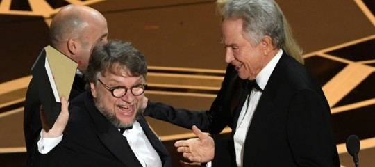 'La forma dell'acqua' di Del Toro vince l'Oscar per il miglior film