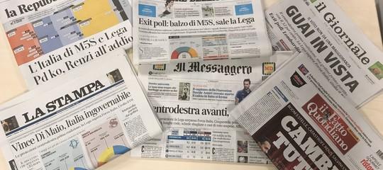 Ilrisultato delle elezioni spiegato dai giornali italiani