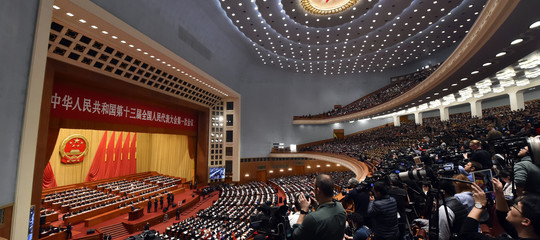 Cina Assemblea Nazionale del Popolocrescita economica