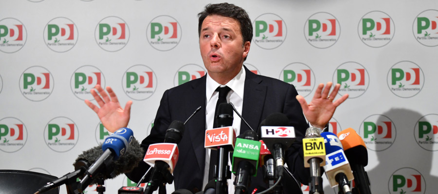Renzi si dimette annuncia il congresso e un pd all - Pignoramento ufficiale giudiziario non trova nessuno ...