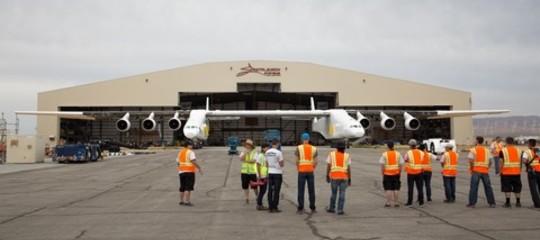 Perché Paul Allen sta costruendo l'aereo più grande del mondo?