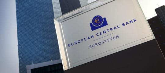 Bce: lascia tassi invariati, 'refi' a quota zero