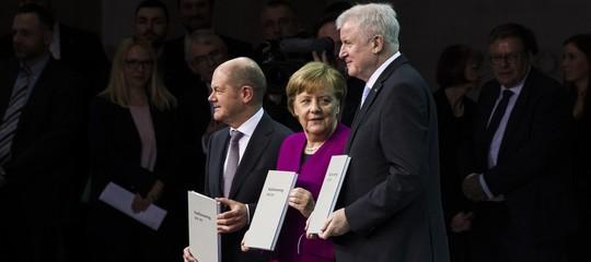"""Cos'è il governo """"per la piccola gente"""" che hanno formato in Germania"""