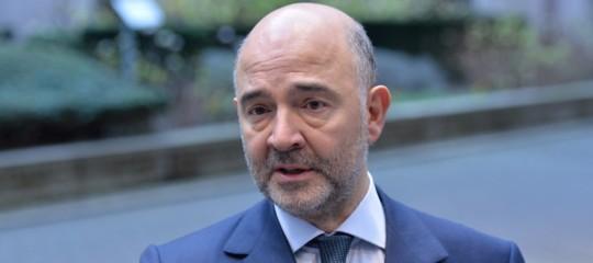 """Ue: Moscovici, """"siamo sereni sull'Italia, ma il 3% è regola di buon senso"""""""