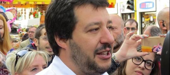 """Salvini apre al dialogo con M5s:""""Parlerò con Di Maio, mai governo con Pd"""""""