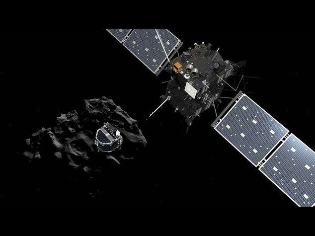"""Spazio: la batteria e' scarica, il lander Philae si e' """"appisolato"""""""