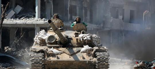 I turchi prendonoAfrin, prosegue l'evacuazione diGhouta. Cosa sta succedendo in Siria