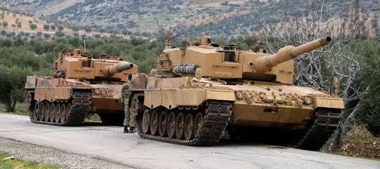Siria: l'esercito libero siriano entra adAfrin