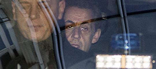 Così cade un ex presidente francese