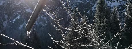 Gelo in montagna