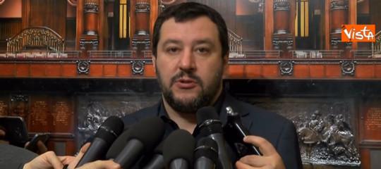 """Camere: Salvini, """"tutto azzerato. il Pd partecipi alle trattative"""""""