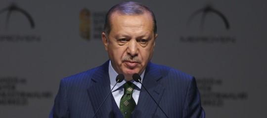 """Siria, Erdogan a Trump:""""Nessun passo indietro in Siria"""""""