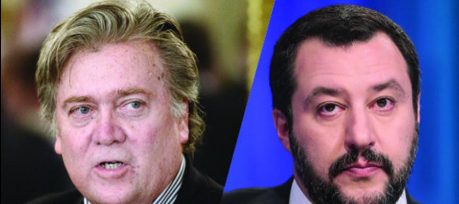 Salvini e Bannon, tutta la storia
