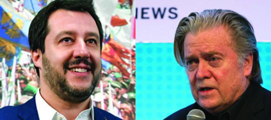 Salvini eBannon, tutta la storia