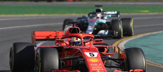 F1: Vettel vince GP Australia davanti a Hamilton