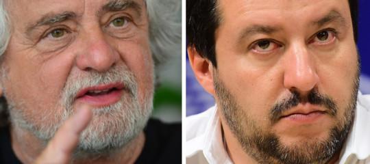 Cosa diceva Grillo di Salvini prima di decidere di fidarsi della Lega
