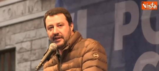 Salvini contro le espulsioni dei diplomatici russi