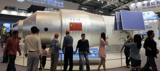 Quanto è probabile che un frammento della stazione spaziale cinese colpisca l'Italia