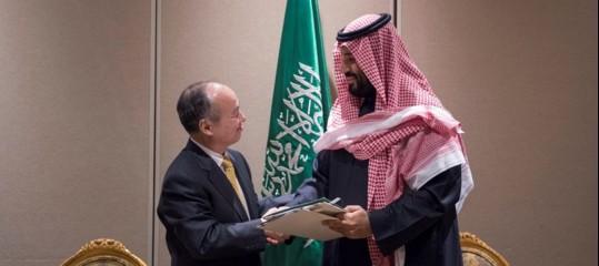 Softbank:mega-progettonel solare con l'Arabia Saudita