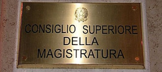 Mafia: Csm, via da magistratura giudiceSaguto