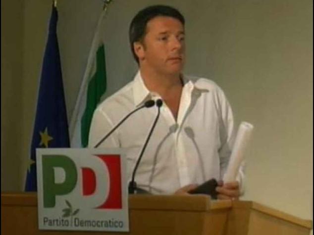 """Renzi ai sindacati, si' al confronto """"Non abbiate paura di cambiare"""""""