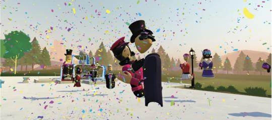 Priscilla e Mark si sono sposati (davvero) su una piattaforma virtuale