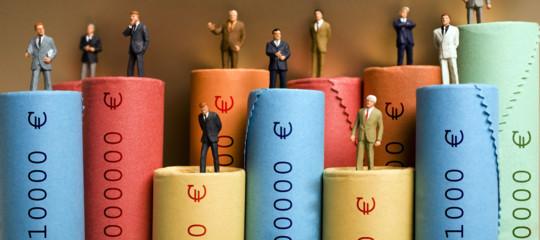 Bankitalia: uomini più ricchi delle donne, gap tra i sessi al 25%