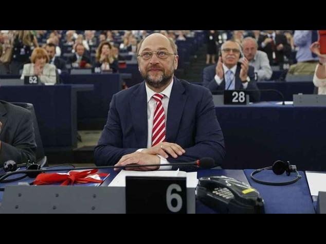 Ue: Schulz, saro' umile, rielezione e' risultato non scontato