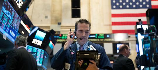 Wall Streetin netto calo su timori dazi,Dow Jones -3% e Nasdaq -3,4%