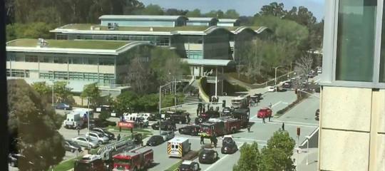 Usa: l'autrice della sparatoria nella sede di YouTube si è uccisa, 4 i feriti