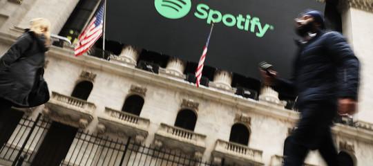 Come è andato il primo giorno di Spotify aWallStreet