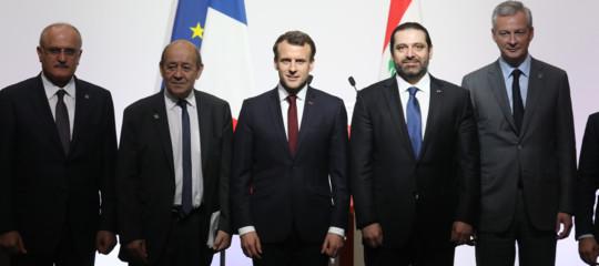 Libano: aiuti dall'Occidente per 11 miliardi di dollari