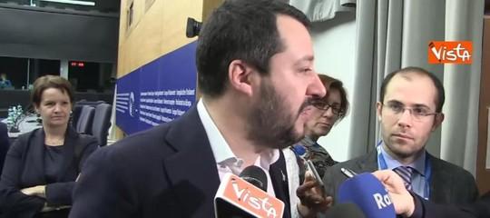 """Governo, Salvini: """"Unico dialogo possibile per rispettare voto è Lega-M5s"""""""