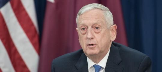 """Siria: capo Pentagono Mattis, dopo impiego armi chimiche """"Usa non escludono nulla"""""""