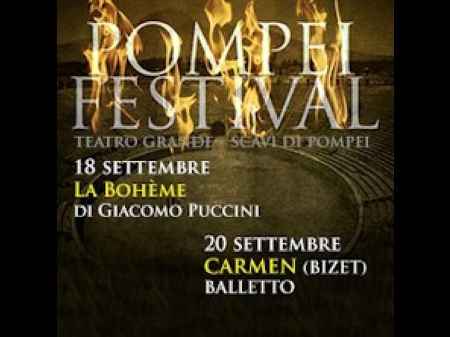 Pompei: nel sito 'Boheme' e 'Carmen' in attesa Bocelli e E. John