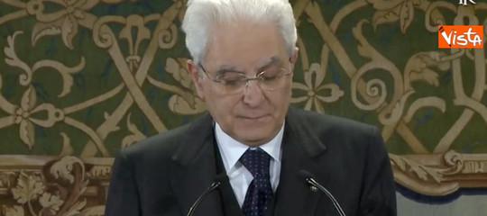 Siria: Unterberger, Mattarella preoccupato anche per reazioni dei partiti