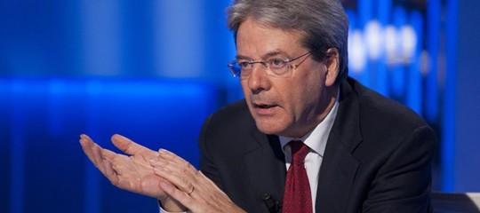 Siria: Gentiloni, Italia non parteciperà a operazioni militari, fornirà supporto logistico