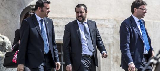 Salvini, o governo centrodestra-M5ssenza veti o si vota