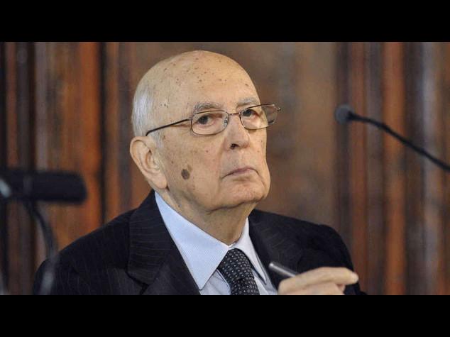 """Italia-Germania: Napolitano, """"dissenso non sia mai meschinita'"""""""