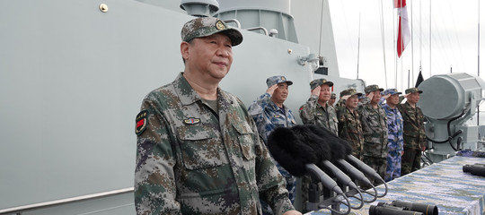 La Cina mostra i muscoli a Taiwan e getta un occhio alla crisisiriana