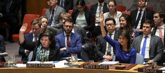 L'Onu non condanna il raid militare in Siria eTrumpsi dice pronto a una nuova azione contro Damasco