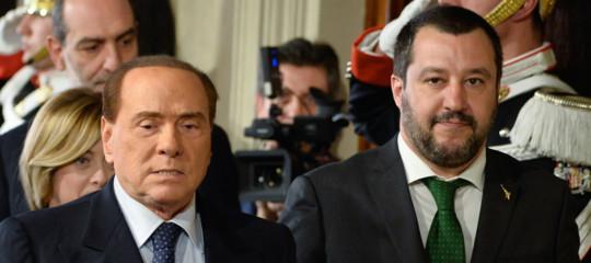 Nemmeno la crisi internazionale scioglie i nodi tra Salvini, Berlusconi e Di Maio