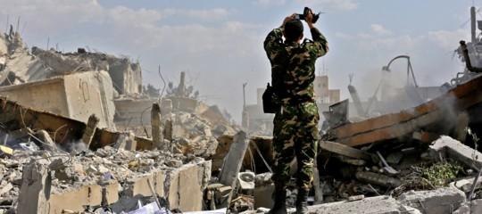 Siria,Trumpsta per colpire un'altra volta Damasco con i missili?