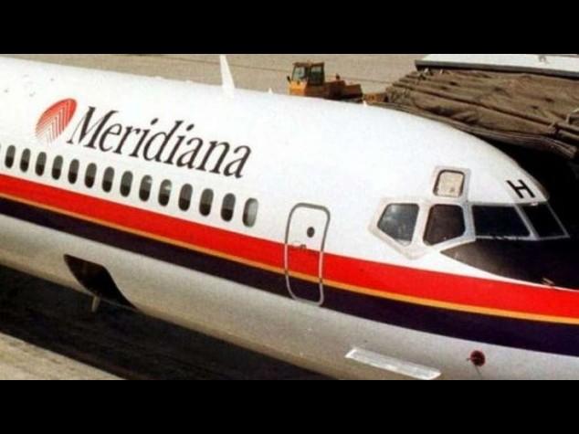 Meridiana: cda comunica messa in mobilita' 1.634 dipendenti