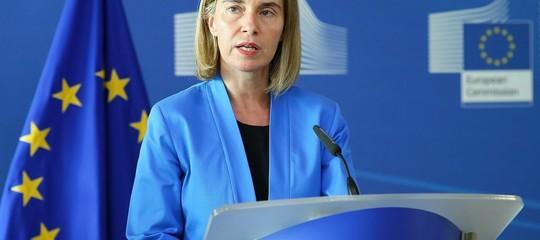Siria:Mogherini, rilanciare processo politico a guida Onu