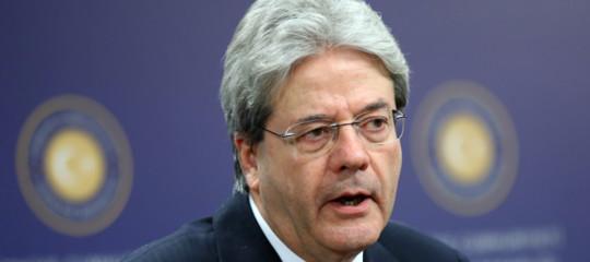 Governo: Gentiloni, Italia non può permettersi di andare fuori strada