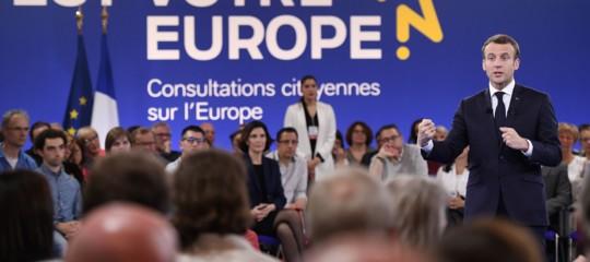 In Europa una generazione di sonnambuli sull'orlo della guerra civile. J'accuse diMacron