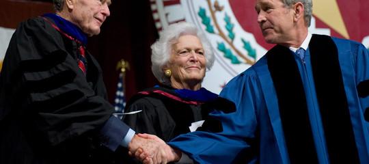 Addio a BarbaraBush, matriarca di una dinastia di repubblicani